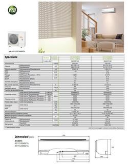 Climatizzatore Fujitsu Mono Split 30000 Btu ASYG30KMTA AOYG30KMTA