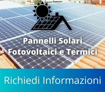 Interventi Pannelli Solari Fotovoltaici e Termici
